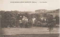 Fontaines-Saint-Martin (Rhône) : Les Guettes