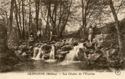 Craponne (Rhône) : Les chutes de l'Yzeron