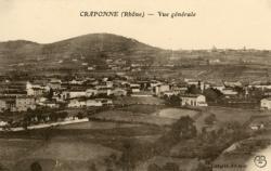 Craponne (Rhône) : Vue générale