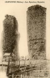 Craponne (Rhône) : Les aqueducs Romains