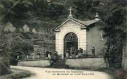 Caluire-et-Cuire (Rhône) : Vue extérieure du Tombeau du Maréchal de Castellane