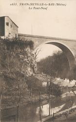 Francheville (Rhône) : Le Pont-Neuf