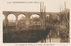 Francheville (Rhône) : Le ruisseau de Tassin et le viaduc des Hermières
