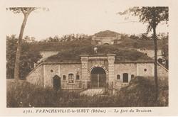 Francheville (Rhône) : Le fort du Bruissin