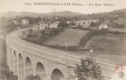 Francheville (Rhône) : Les deux Viaducs