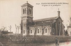 Francheville (Rhône) : L'église et le presbytère