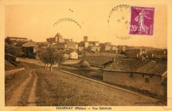 Charnay (Rhône) : Vue générale