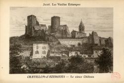 Châtillon (Rhône) : Le Vieux Château