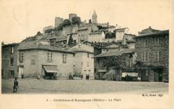 Châtillon (Rhône) : La Place