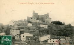 Châtillon (Rhône) : Vue prise de Côte Noire
