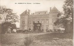 Dommartin (Rhône) : Le château