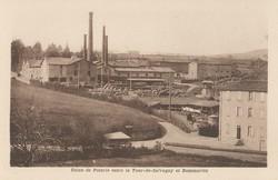 Usine de poterie entre la Tour-de-Salvagny et Dommartin (Rhône)