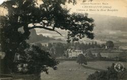 Chénelette (Rhône) : Château et Monts du Haut Beaujolais