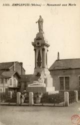 Amplepuis (Rhône) : Monument aux Morts