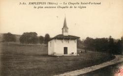 Amplepuis (Rhône) : La Chapelle Saint-Fortunat, la plus ancienne Chapelle de la région