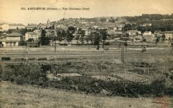 Amplepuis (Rhône) : Vue générale (Sud)