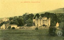Amplepuis (Rhône) : Château de Sarron