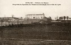 Cublize (Rhône) : Château de Magny