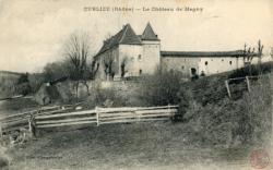 Cublize (Rhône) : Le Château de Magny
