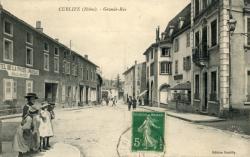 Cublize (Rhône) : Grande-Rue