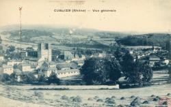 Cublize (Rhône) : Vue générale