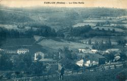 Cublize (Rhône) : La Côte Rotie