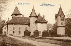 Bois d'Oingt (Rhône) : Château de Rambutaux-Breuil