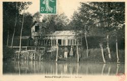 Bois d'Oingt (Rhône) : Le lac