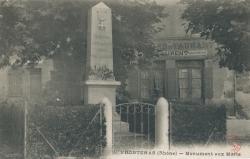 Frontenas (Rhône) : Monument aux Morts