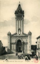 Chaponost (Rhône) : L'église