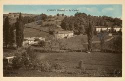 Cogny (Rhône) : Le Corbet