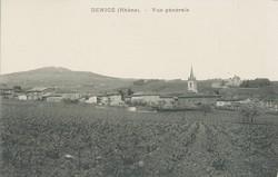 Denicé (Rhône) : Vue générale