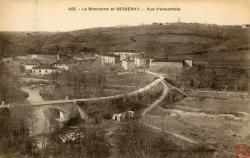 La Brevenne et Bessenay (Rhône) : Vue d'ensemble.