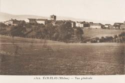 Echalas (Rhône) : Vue générale
