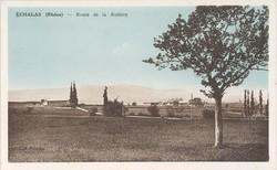 Echalas (Rhône) : Route de la Rodière