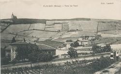 Fleurie (Rhône) : Vers les Vaux