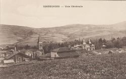 Emeringes (Rhône) : Vue générale