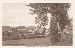Duerne (Rhône) : Un coin de village