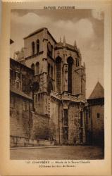 Savoie Tourisme : Chambéry ; abside de la Sainte Chapelle (château des ducs de Savoie)