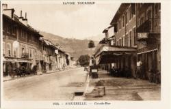 Savoie Tourisme : Aiguebelle ; Grand-Rue