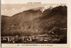 Savoie Tourisme : Aiguebelle-Randens et route de Montsapey