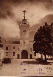 Abbaye N.-D. d'Aiguebelle : Tour d'entrée actuelle