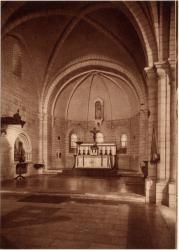 Abbaye N.-D. d'Aiguebelle : La Basilique ; Chevet du Choeur (XIIIe s.)