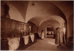 Abbaye N.-D. d'Aiguebelle : La Sacristie