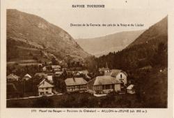 Savoie Tourisme : Massif des Bauges ; Environs du Châtelard ; Aillon-le-Jeune (alt 850m)