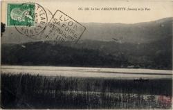 Le Lac d'Aiguebelette (Savoie) et le Port