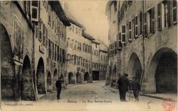 Annecy : La Rue Sainte-Claire