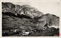Abondance(Hte-Sav.) - Altit. 930 m. : Richebourg et le Mont Chauffé