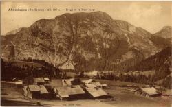 Abondance(Hte-Savoie) - Alt. 927 m. : Frogy et le Mont Jorat