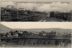 Annonay (Ardèche) : Quartier de Champgurin